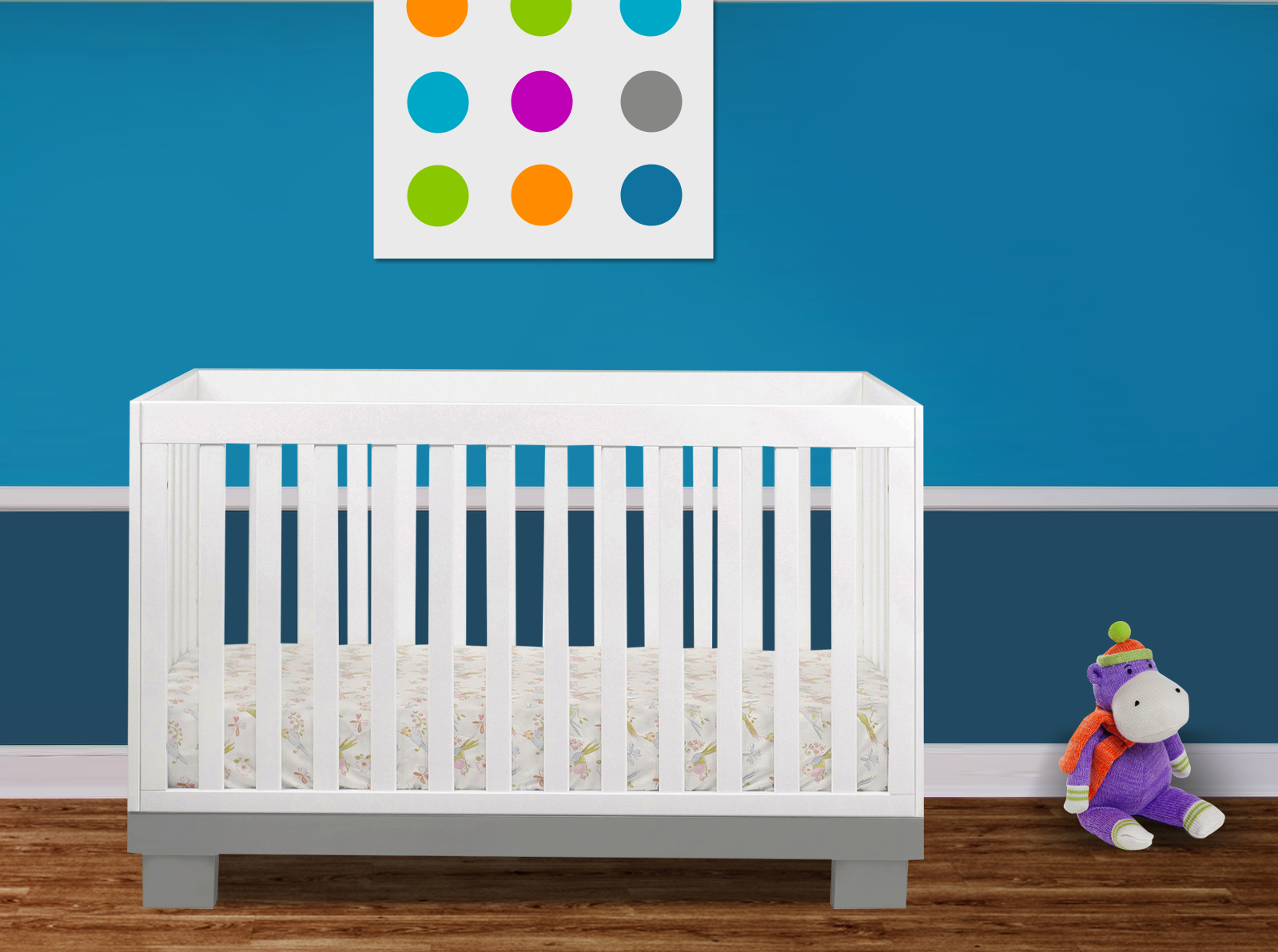 giveaway crib  mattress from simply baby furniture  project nursery - babyletto modo crib from simply baby furniture