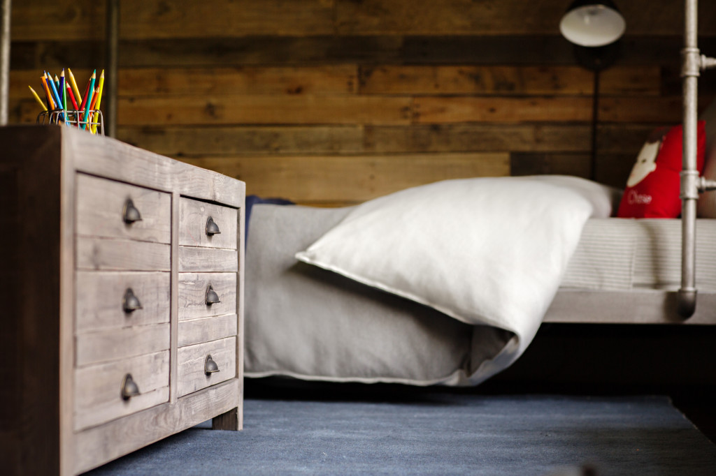 Industrial Chic Boy's Bedroom