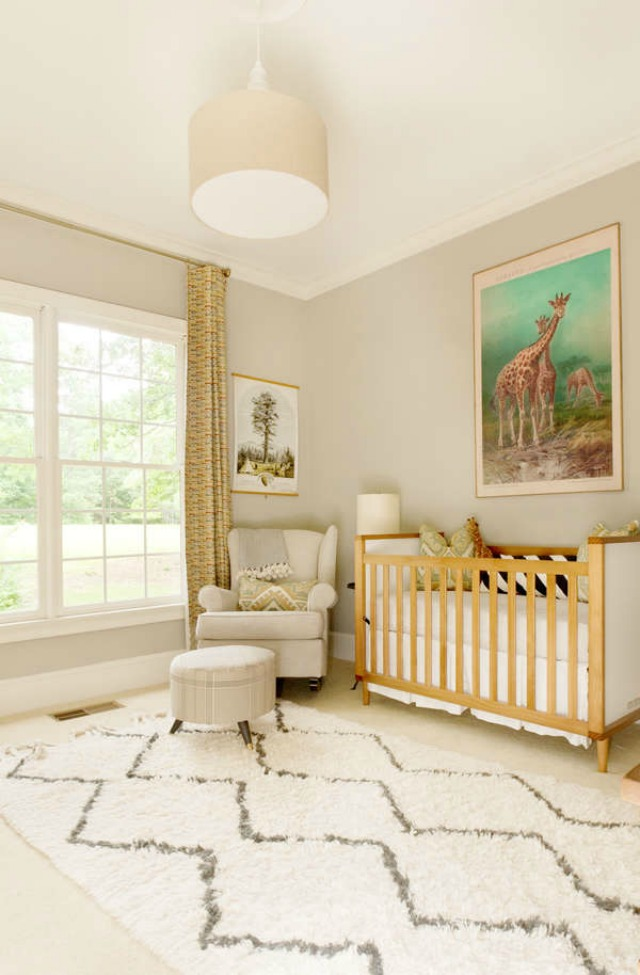 Soft Taupe Gender Neutral Nursery