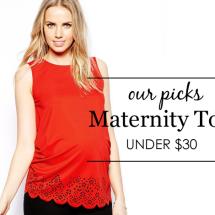 Maternity Tops Under $30