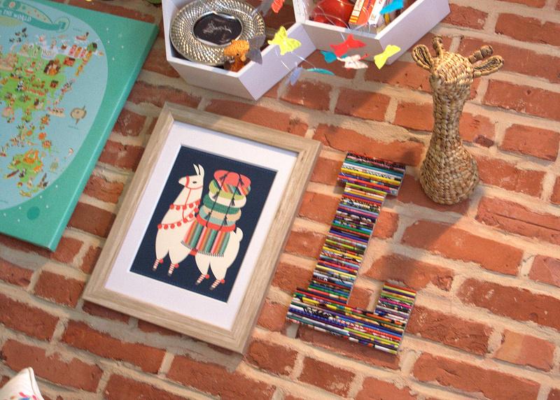 Eclectic Modern Safari Gallery Wall