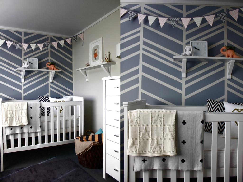 Diy Feature Wall Baby Nursery Project Nursery