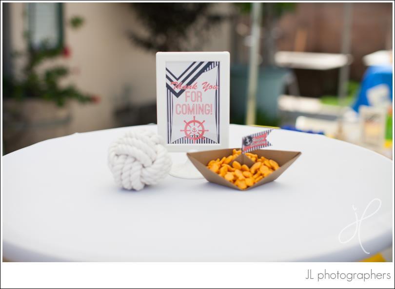 Origami Sailboat for Holding Goldfish Crackers