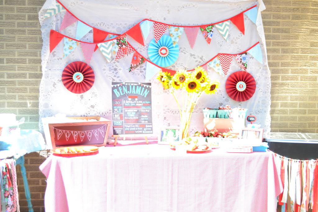 Country Fair Birthday Party - Project Nursery