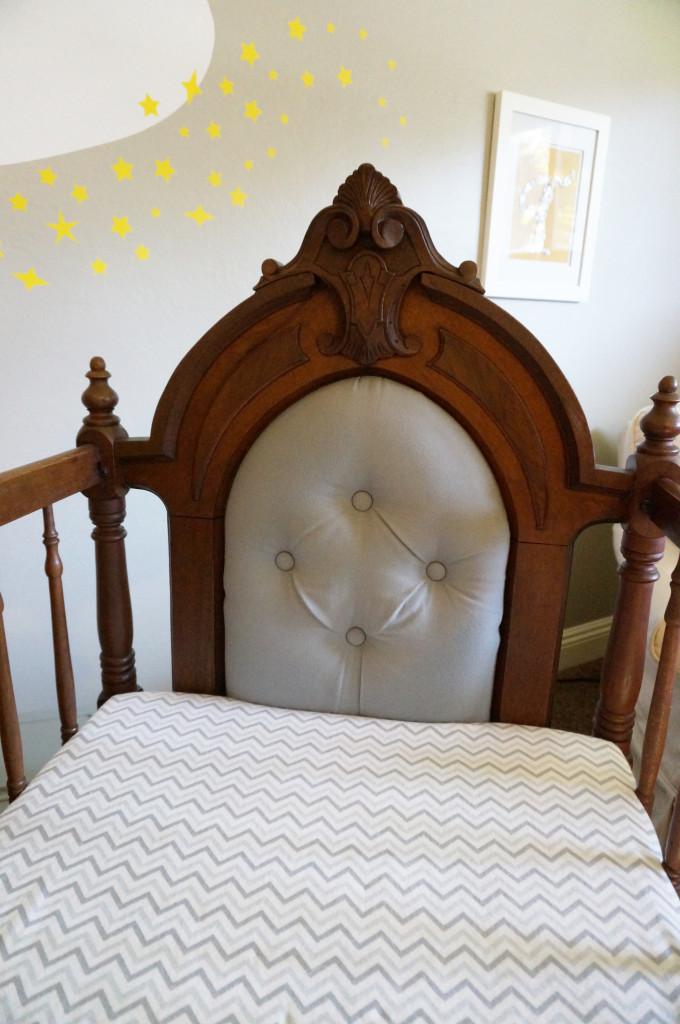 Refinished 1879 Crib