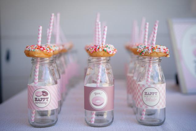 Donut-Themed Birthday Party Treats - Project Nursery