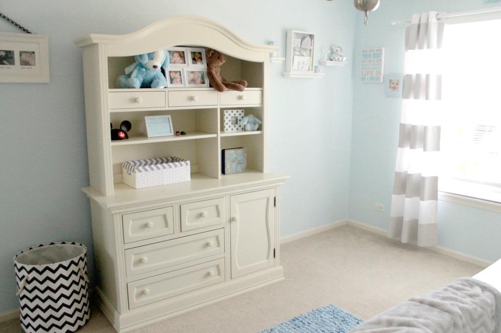 Blue and Gray Boy's Nursery - Project Nursery
