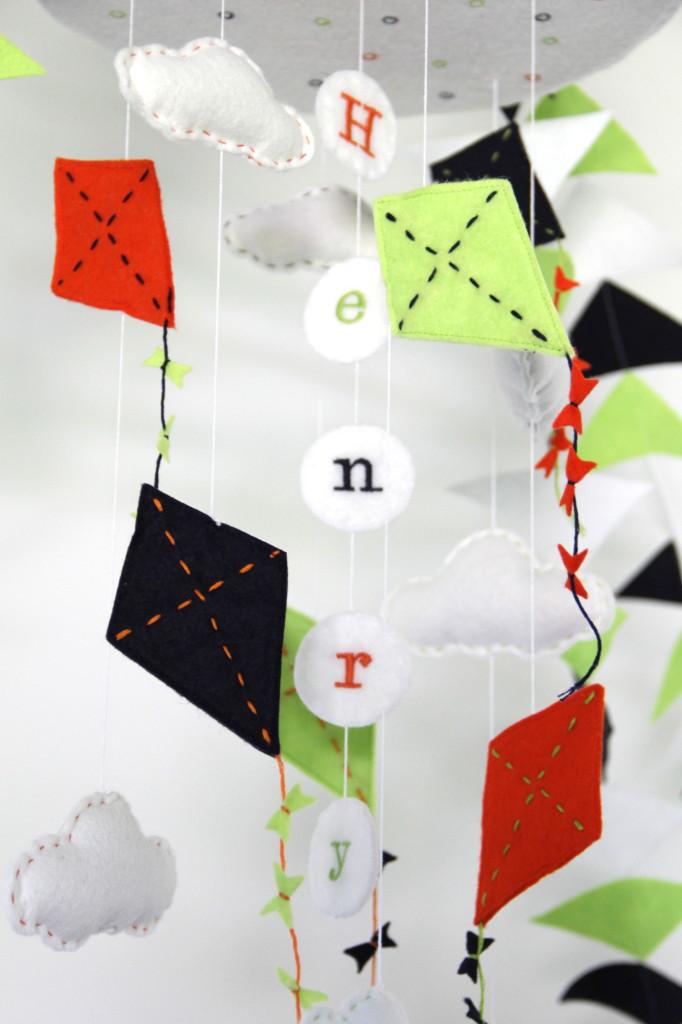 DIY Kite Baby Mobile