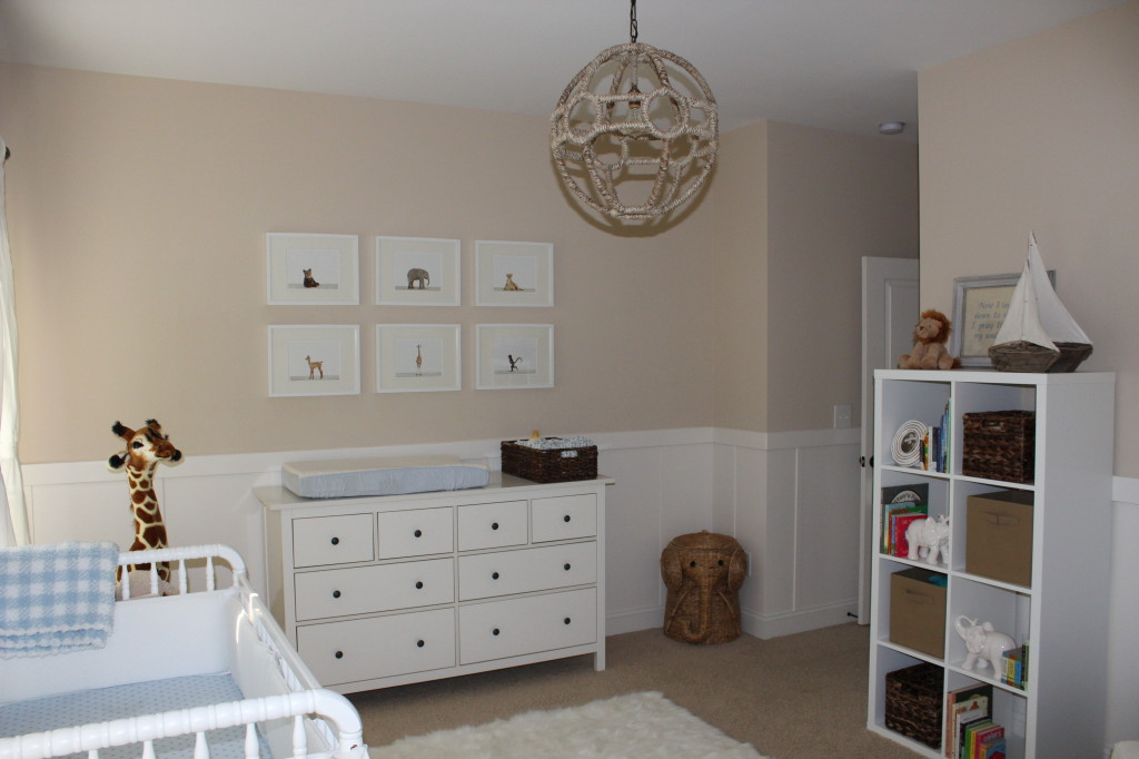 Beige And White Neutral Nursery For Baby Boy Project