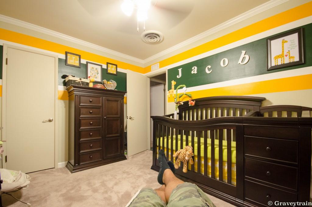 Green Bay Packers Themed Nursery - Project Nursery
