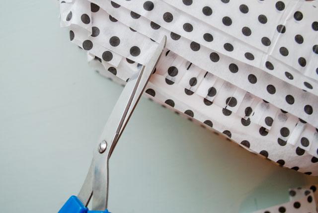Tissue Paper Fringe