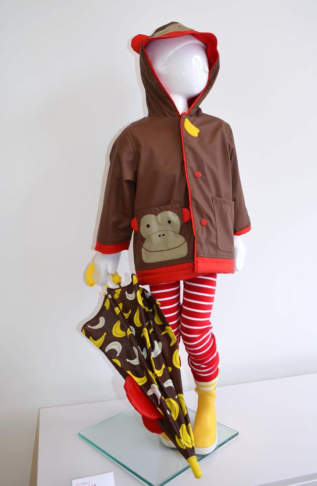 Skip Hop Rain Coat and Umbrella