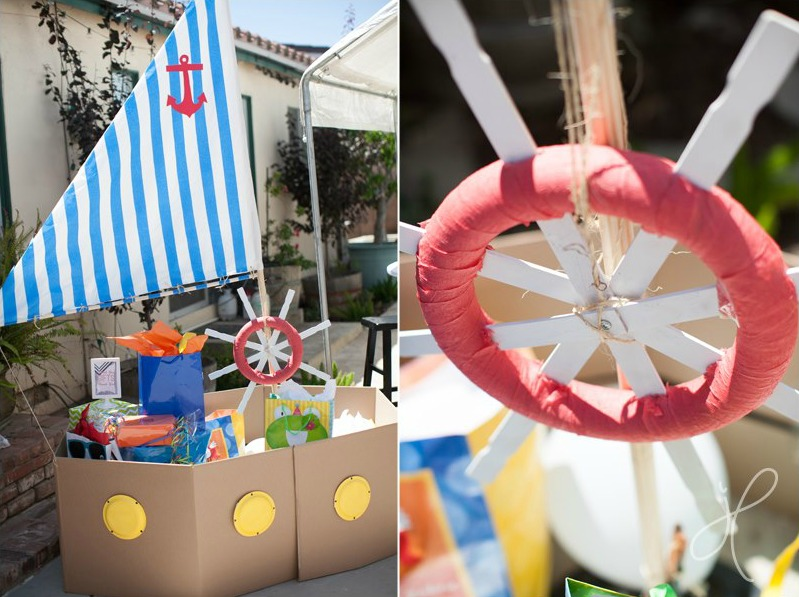 Boats and Bubbles Birthday Party - Project Nursery