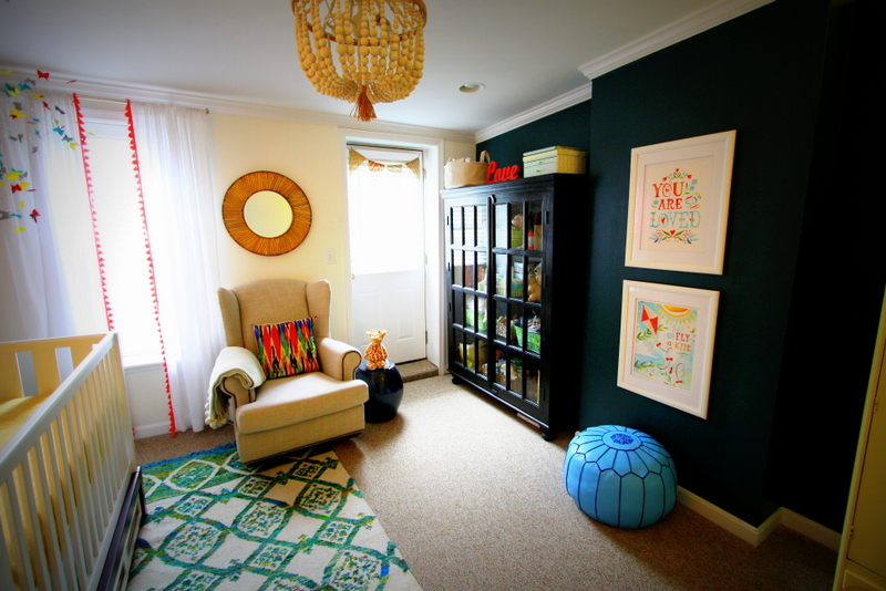 Colorful and Eclectic Nursery - Project Nursery