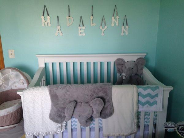 Madelynn S Elephant Themed Nursery Project Nursery