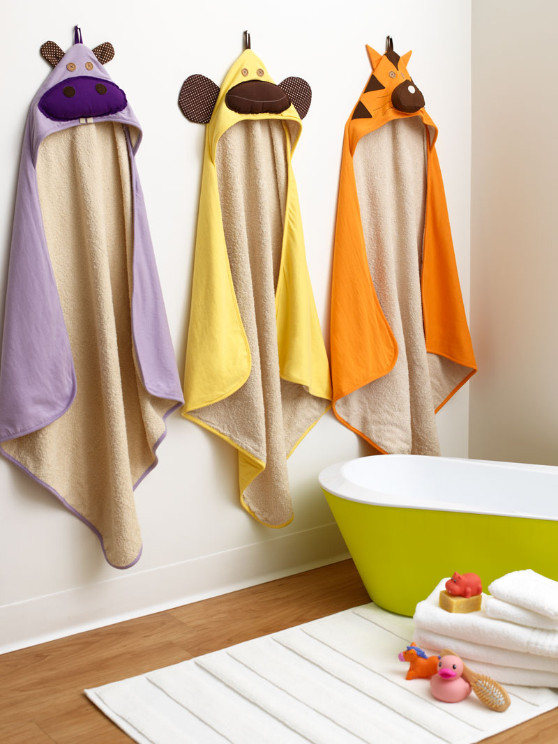 Hooded Towels from 3 Sprouts