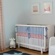 Eclectic-Modern Girl's Nursery