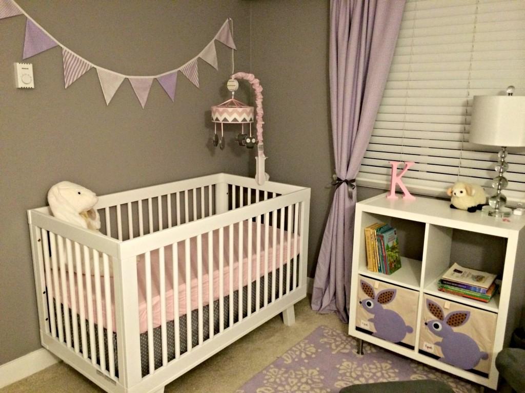 Lavender Nursery Gray Lavender And Pink Nursery Project Nursery