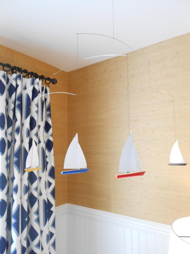 Sailboat Nursery Mobile