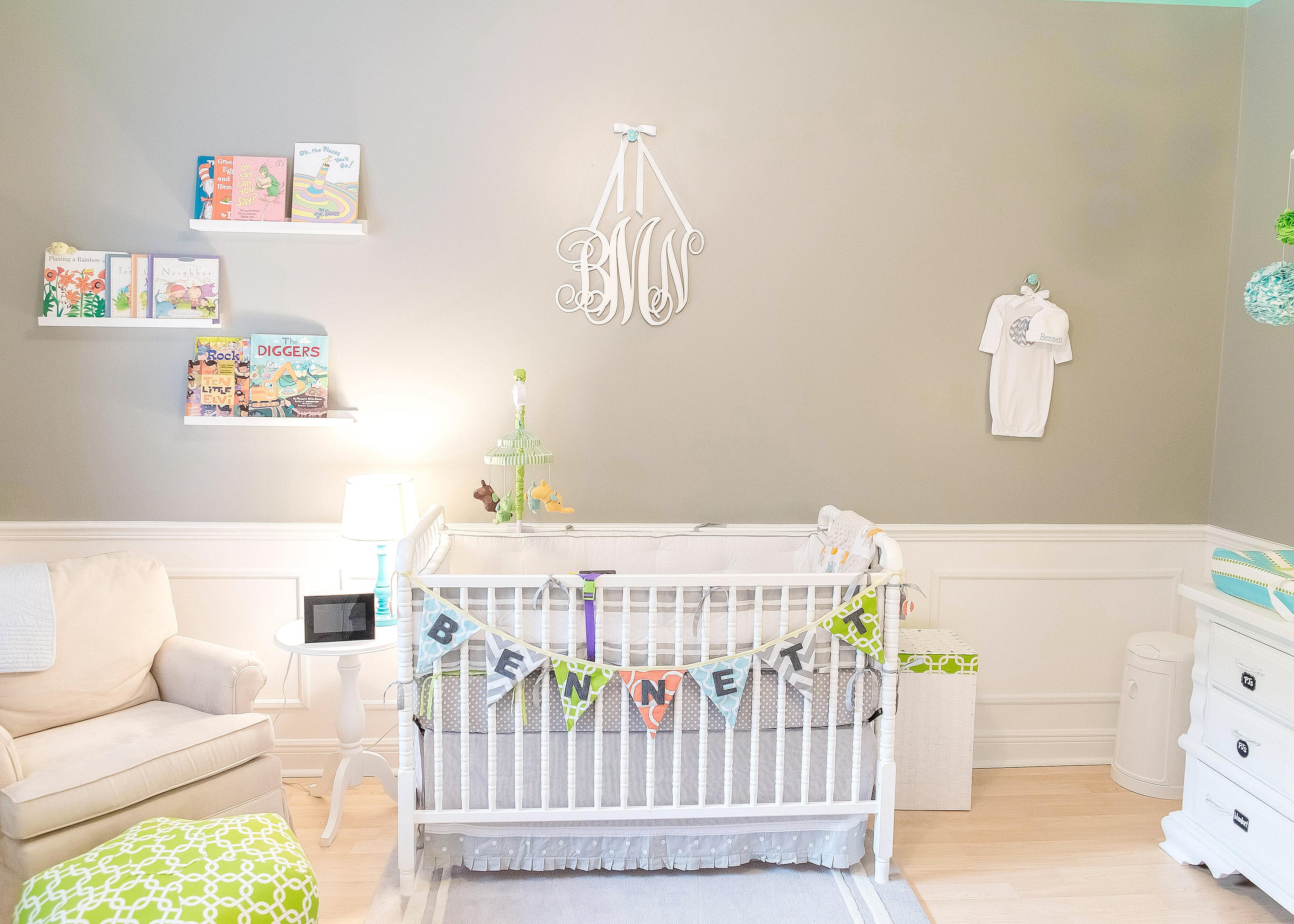Gray and White Nursery