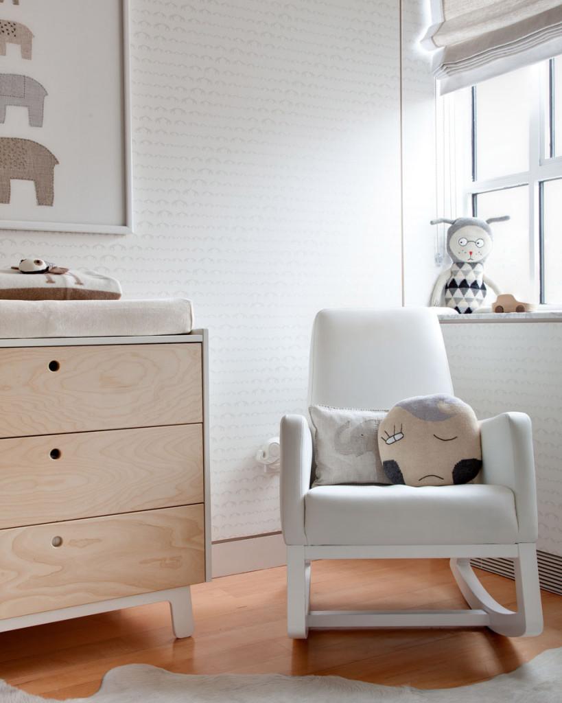 Monte Rocker in this Modern Neutral Nursery