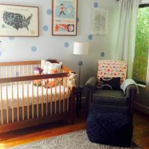 Modern and Worldly Nursery - Project Nursery