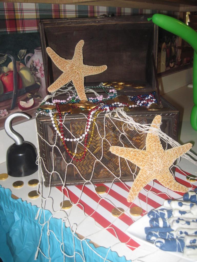 Under the sea mermaid nursery : Pirate and mermaid under the sea birthday party - project nursery