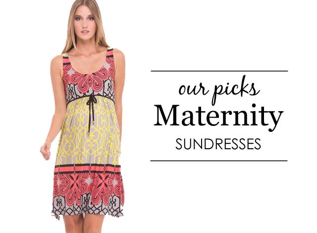 Maternity-Friendly Sundresses - Project Nursery