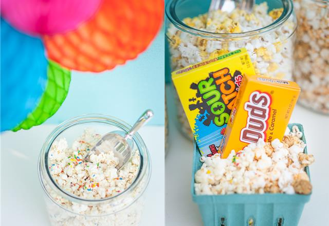 Backyard Movie Night Snacks