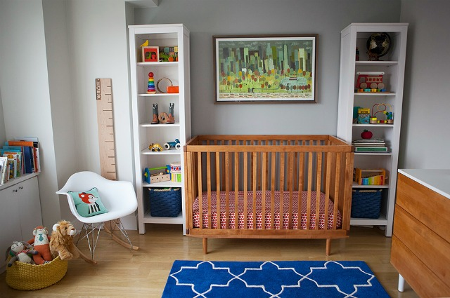 Kelsey Nixon's Vibrant and Modern Nursery