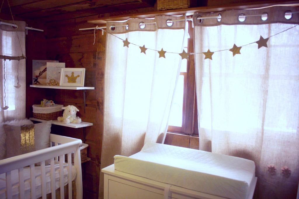 Neutral Nursery with Star Garland - Project Nursery
