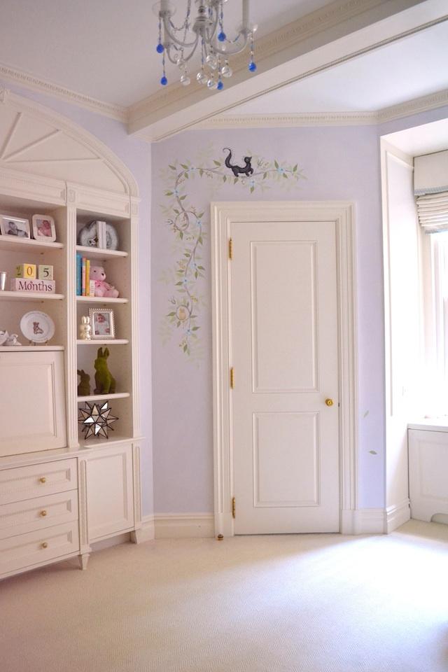 Best Classic Lavender Chinoiserie Nursery