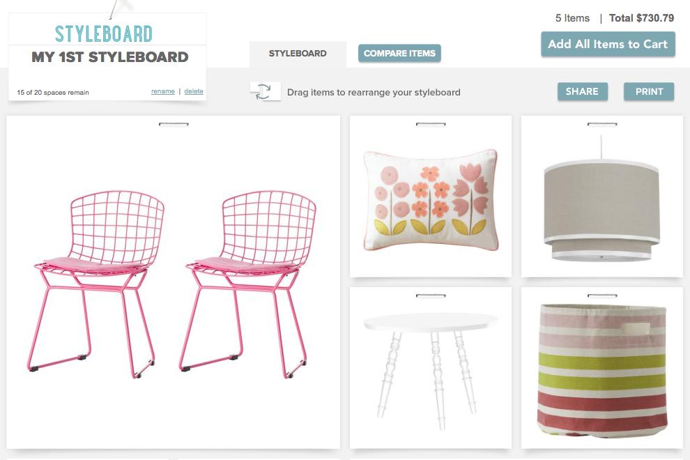 Casa.com Styleboard