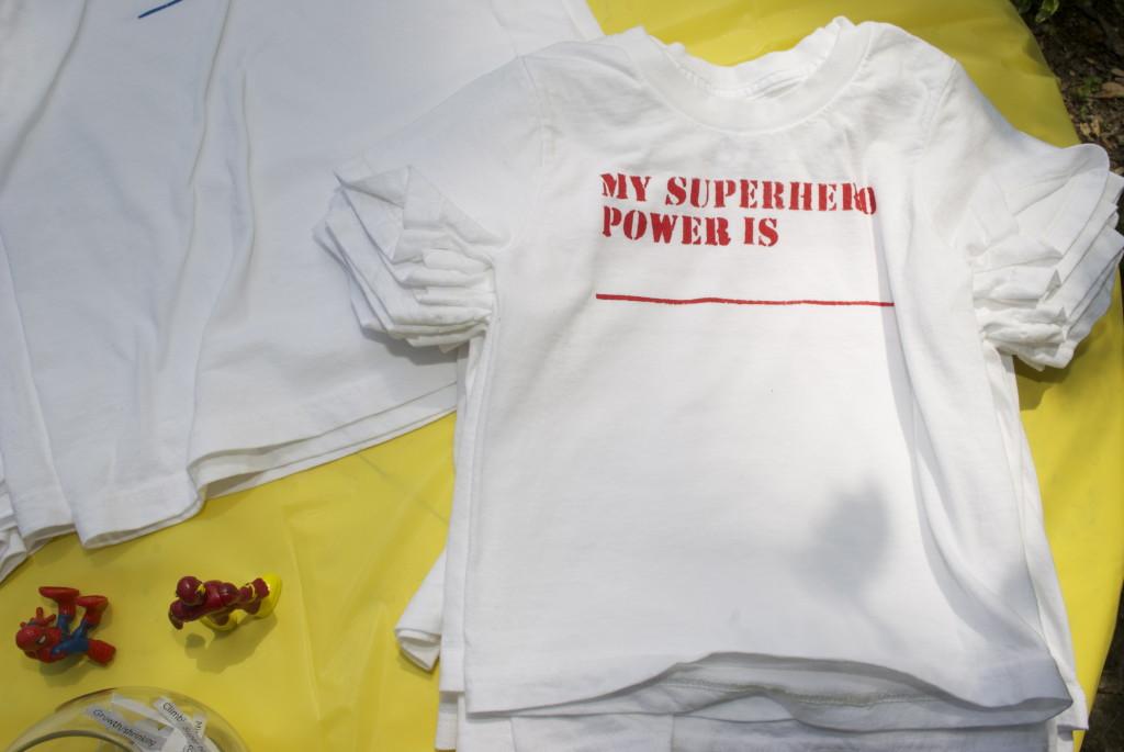 Superhero Party Favor