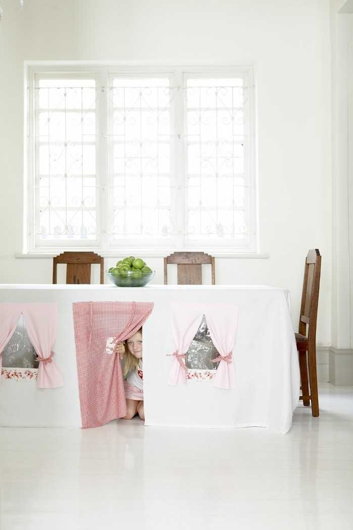 Tablecloth Fort