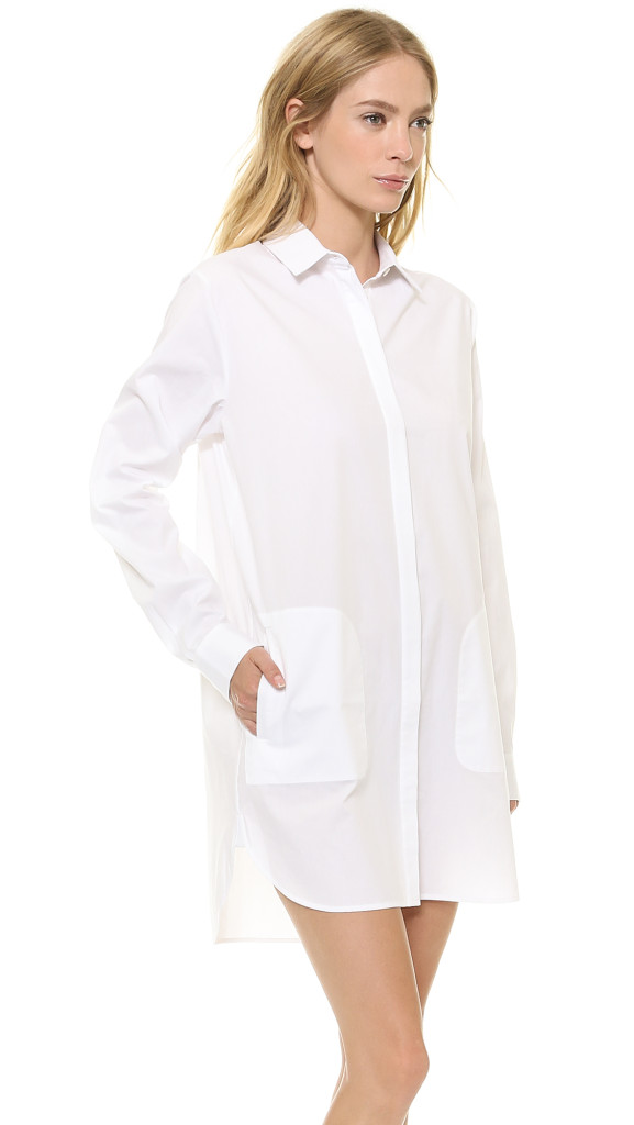 Long Sleeve Shirtdress from T by Alexander Wang