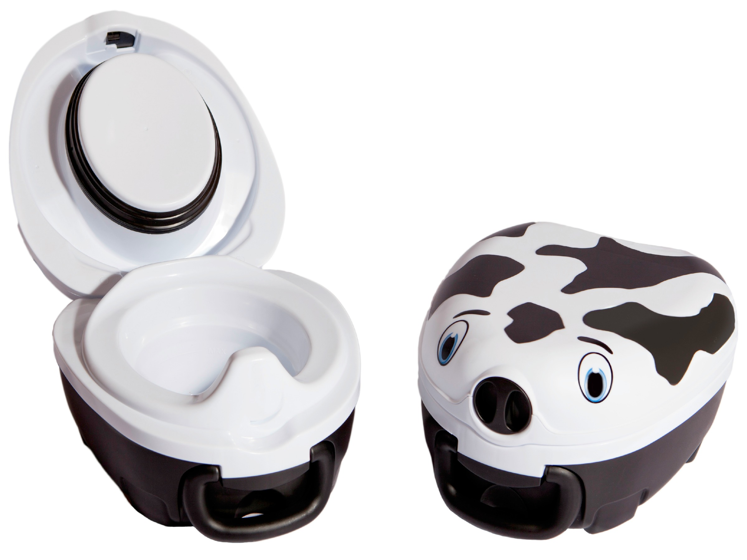 My Carry Potty in Cow Print