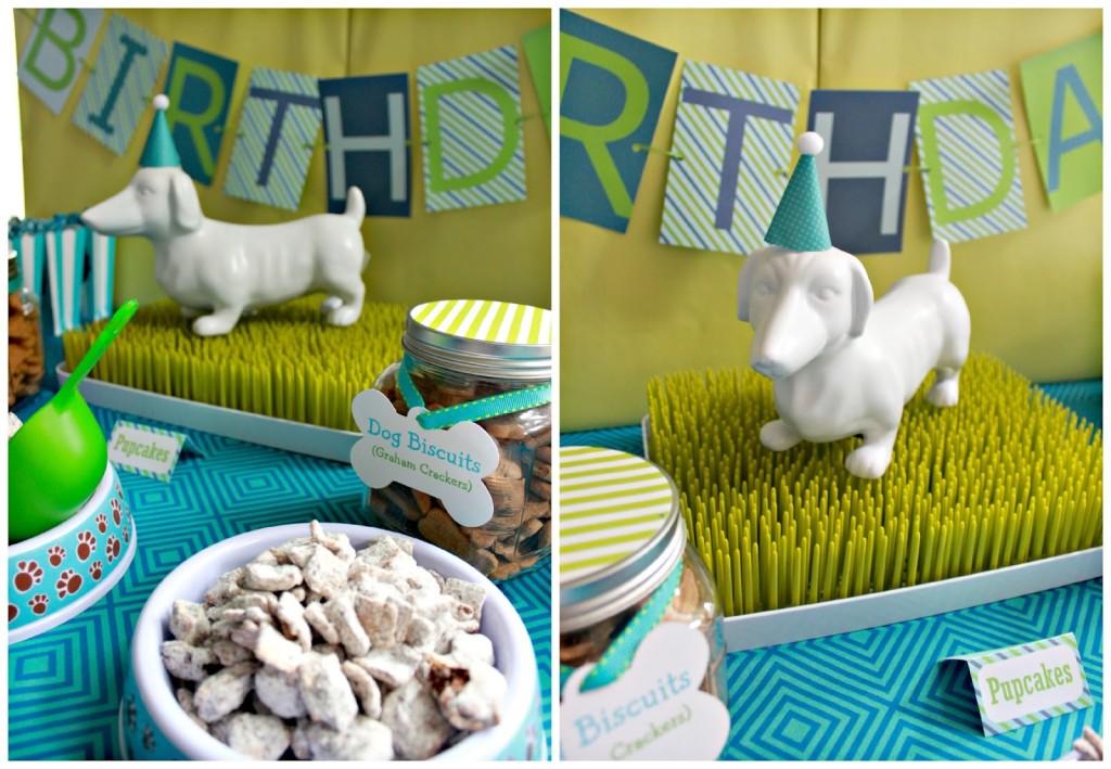 Puppy Birthday Party Decor