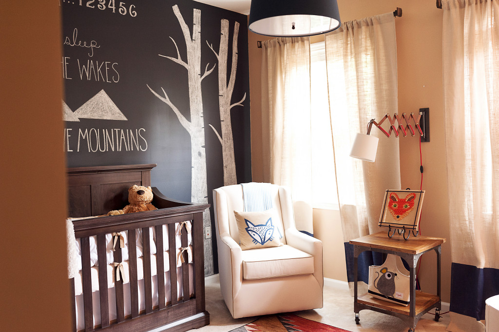 Fox Themed Nursery