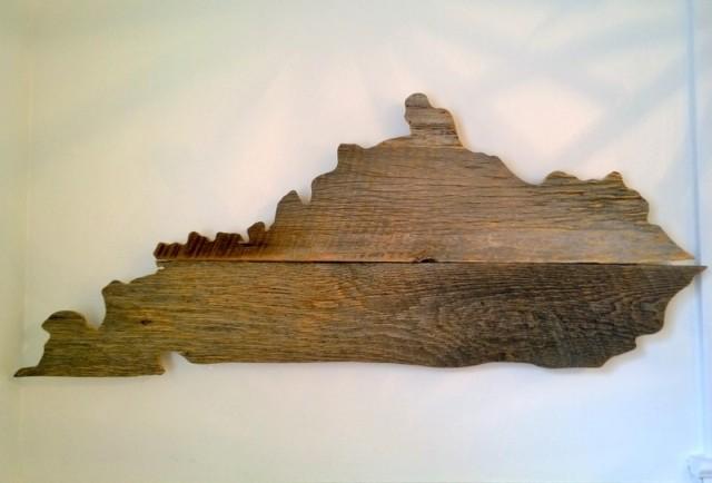 Wooden Kansas Wall Art - Project Nursery