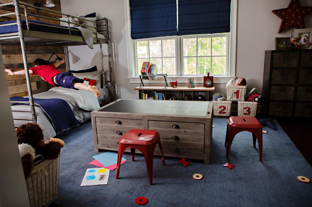 Industrial-Vintage Boy's Room - Project Nursery