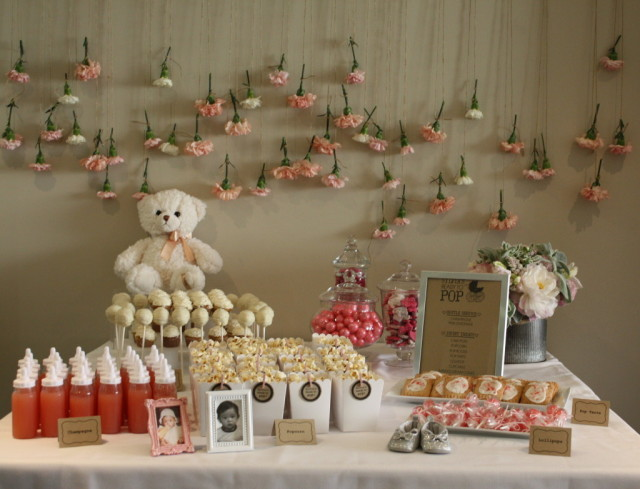 Ready to Pop Baby Shower Dessert Table - Project Nursery