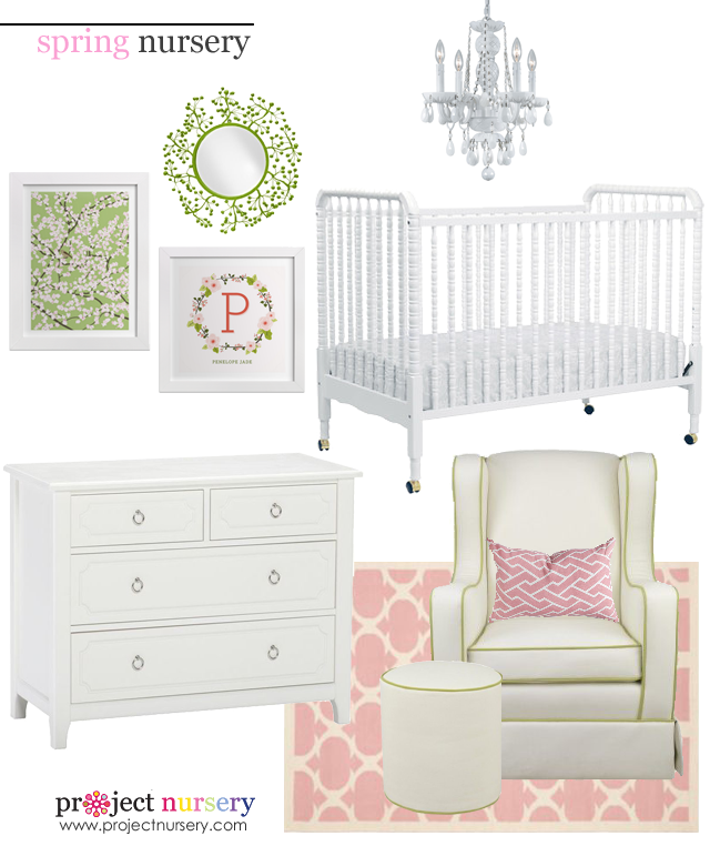 Spring Nursery Design Board