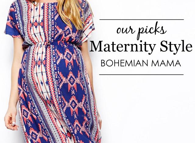 Bohemian Mama Maternity Style
