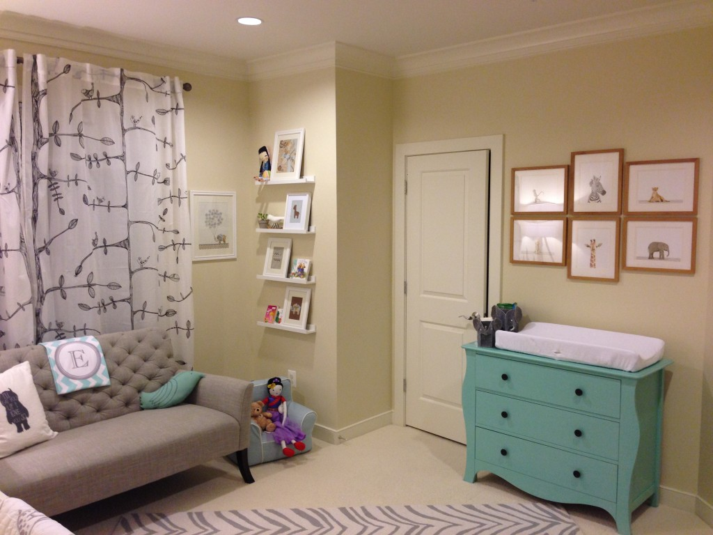 Neutral Baby Girl Safari Themed Nursery