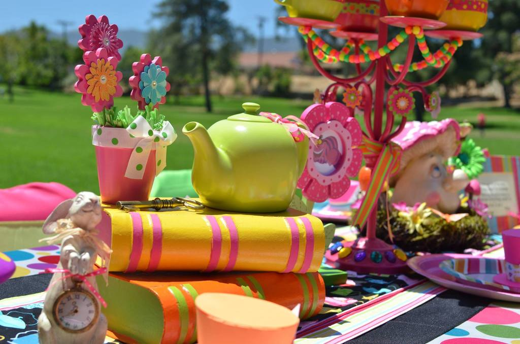 Mad Hatter Party Table Props