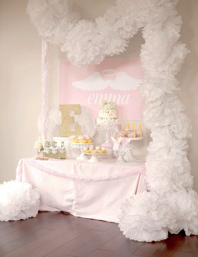 Party Reveal: Little Angel First Birthday Party