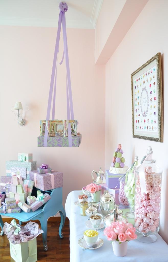 Laduree Paris First Birthday Tea Party - Project Nursery