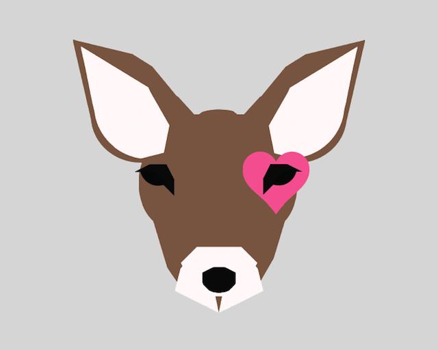 Deer Nursery Art from Little Crown Interiors