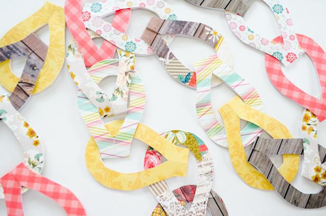 Fancy Paper Chain Tutorial